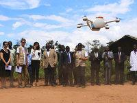 Drohnen f�r den Transport von Blutproben geplant