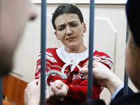 Russland l�sst ukrainische Pilotin Sawtschenko frei