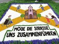 Zu wenig Bl�ten f�r Prozession in H�fingen