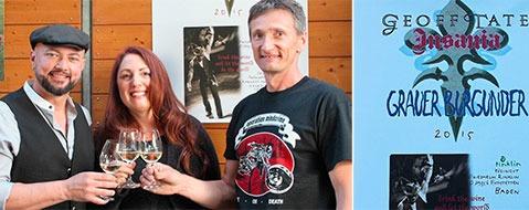 Eichstetten trifft auf Metal-Legende: Wein f�r Geoff Tate