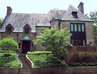 Obamas neues Haus ist braun statt wei�