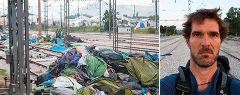 """Fl�chtlingshelfer: """"Ich habe 8000 Freunde verloren"""""""