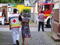 Rauchalarm in Wohnanlage der Lebenshilfe – insgesamt sechs Eins�tze f�r die Feuerwehr