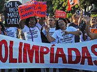 Eine Favela in Rio muss f�r Olympische Spiele weichen