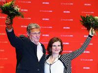 Parteitag: Kipping und Riexinger bleiben Linken-Chefs