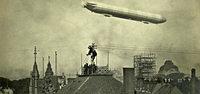 1909 flog ein Zeppelin �ber Freiburg - dabei entstanden beeindruckende Luftbilder