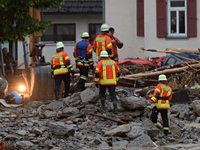 Vier Tote durch �berschwemmungen – Braunsbach besonders betroffen