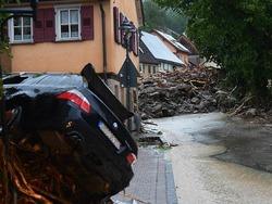 Die Bilder des Unwetters in Baden-W�rttemberg