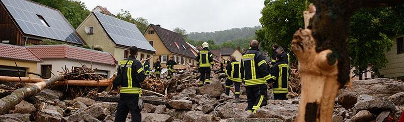 �berschwemmungen fordern mindestens vier Tote und viele Verletzte - Braunsbach schlimm betroffen