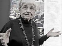 Holocaust-�berlebende Hedy Epstein stirbt mit 91 Jahren