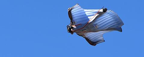 """Augenzeuge: """"Sehr viel Pech"""" bei Wingsuit-Todessturz"""