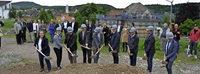 Spatenstich f�r 62 Wohnungen: 25-Millionen-Projekt Rheinfelder Adelberg