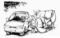 Letzte Hoffnung der Milchbauern: Die Kreativit�t der Autoindustrie!