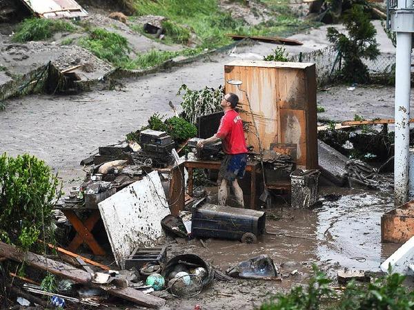 Das Wasser kam rasant und überraschte viele Bürger im Kreis Rottal-Inn.