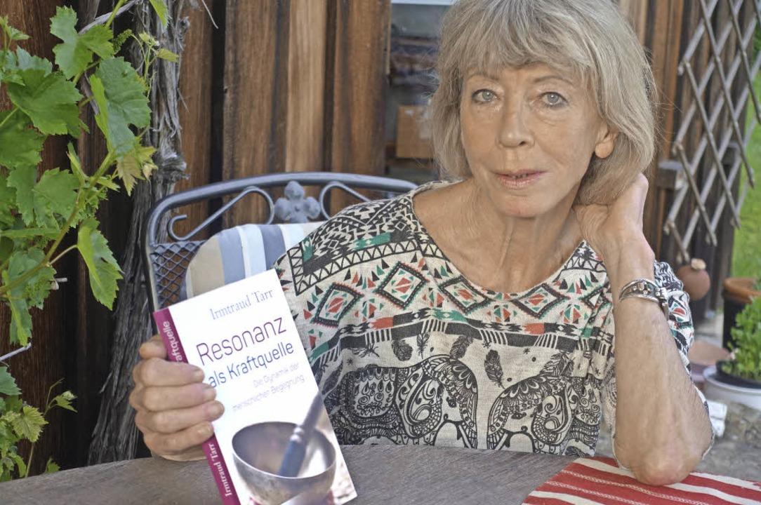 Irmtraud Tarr wurde von ihren Studenten zu ihrem neuen Buch inspiriert.   | Foto: Roswitha Frey