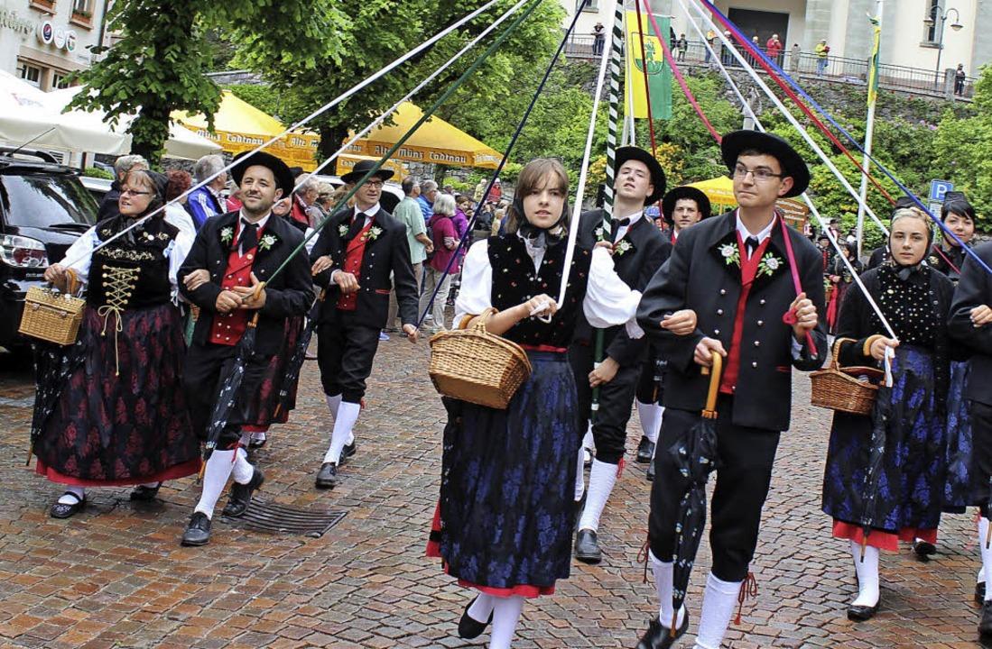 Trachtengruppe Häg  | Foto: Hermann Jacob