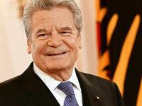 Gauck erkl�rt Verzicht auf zweite Amtszeit als Bundespr�sident