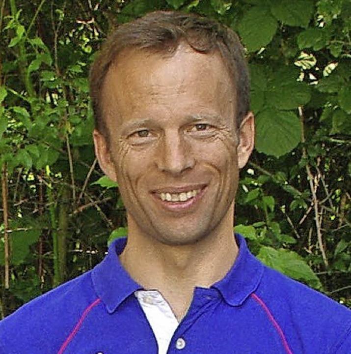 Lehrer Folke Kaben organisiert den Swim&Run.   | Foto: Rolf reißmann