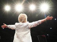"""""""Zum ersten Mal (...) wird eine Frau die Kandidatin einer der gro�en Parteien sein."""""""