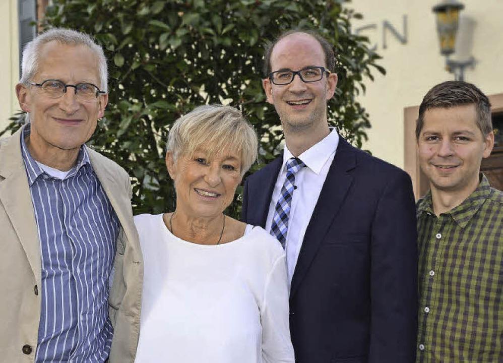 Der wiedergewählte Vorstand der Freibu...er-Müller,  Sascha Fiek, Hartmut Hanke  | Foto: Uwe Mauch