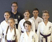 DM-Bronze f�r Karateka Moritz Kern