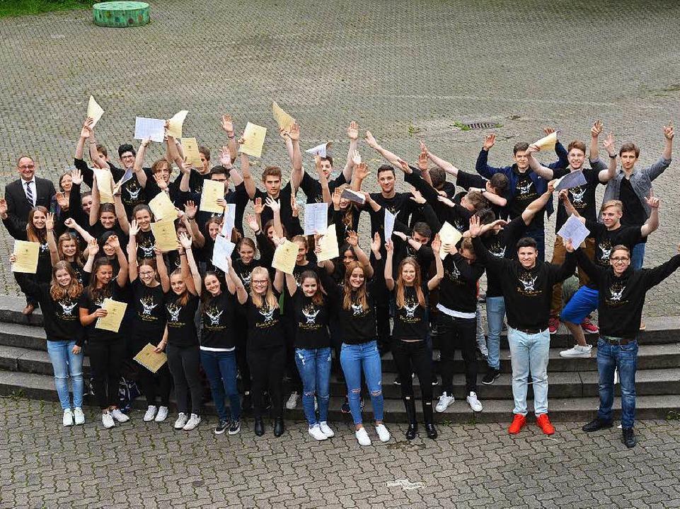 Jubelstimmung am LMG  | Foto: Heinz u. Monika Vollmar