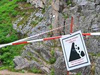 Felssturzgefahr: Kletterfelsen in St. Blasien gesperrt