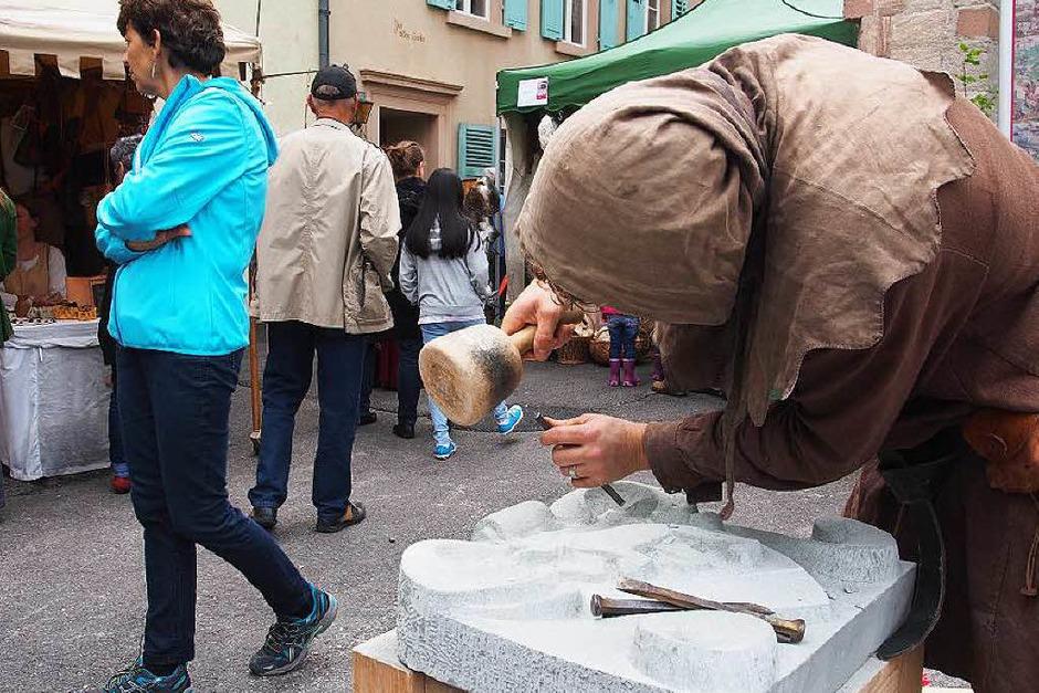 Erfolgreiche Premiere in der Altstadt von Rheinfelden/Schweiz: Impressionen vom Mittelalterfest am Wochenende (Foto: Boris Burkhardt)