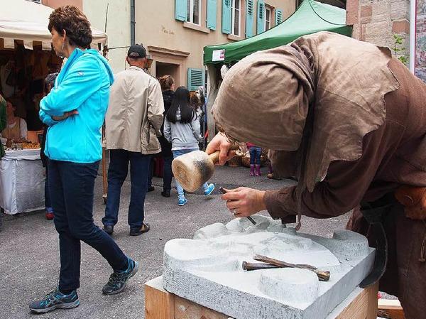 Erfolgreiche Premiere in der Altstadt von Rheinfelden/Schweiz: Impressionen vom Mittelalterfest am Wochenende