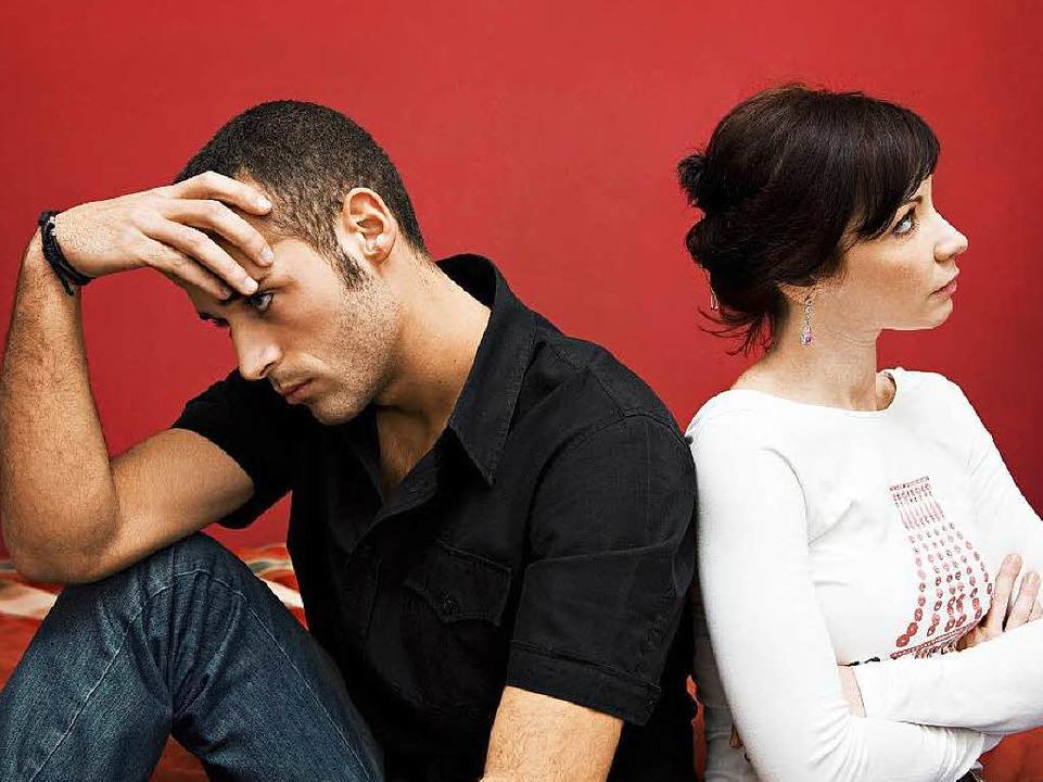 Emotional ist eine Trennung immer eine...Für den Geldbeutel mitunter ebenfalls.  | Foto: fotolia.com/diego cervo