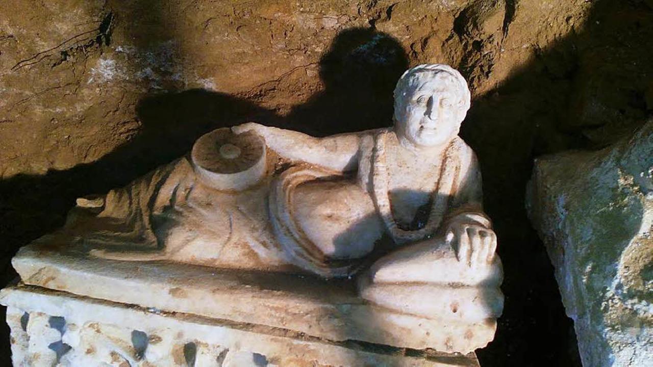 Der Deckel des Sarkophags  | Foto: Privat