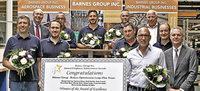 """Excellence Award"" f�r Projektteam der Firma M�nner"