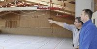 Sporthalle soll k�nftig Strom sparen