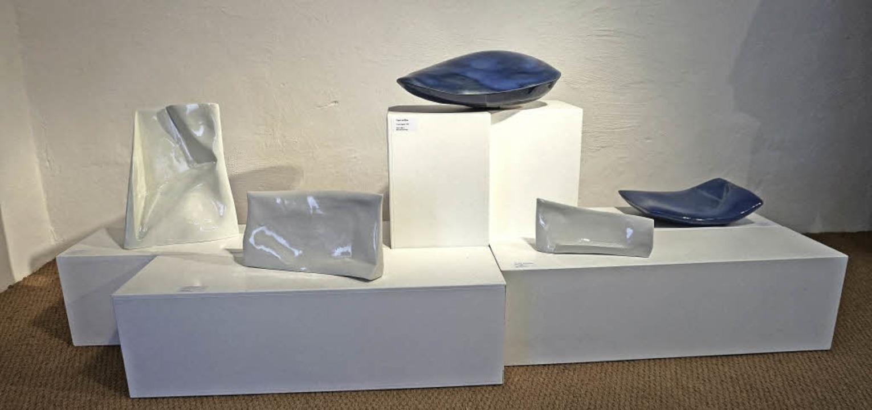 Eine Ausstellung mit Objekten des seit...dbrunnen auf dem Münsterberg zu sehen.  | Foto: Paul Klock