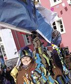 Austragung der ersten Bad S�ckinger Stadtmeisterschaft im Fahnenhochwurf