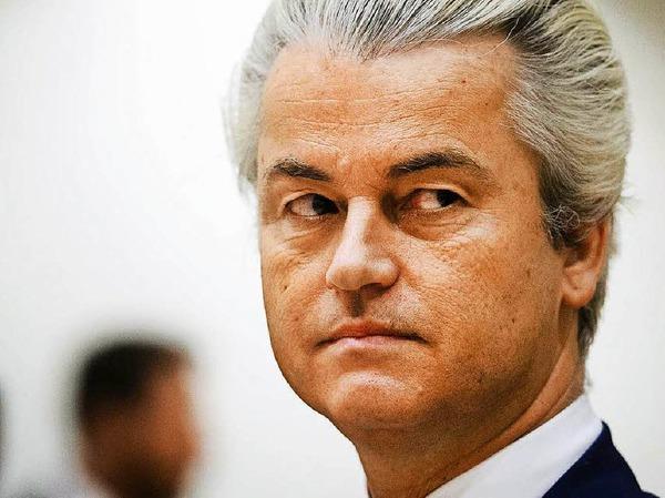Auf das Ergebnis hat er gewartet: Der niederländische Rechtspopulist Geert Wilders fordert auch in seinem Land eine Volksabstimmung über den Verbleib in der EU.