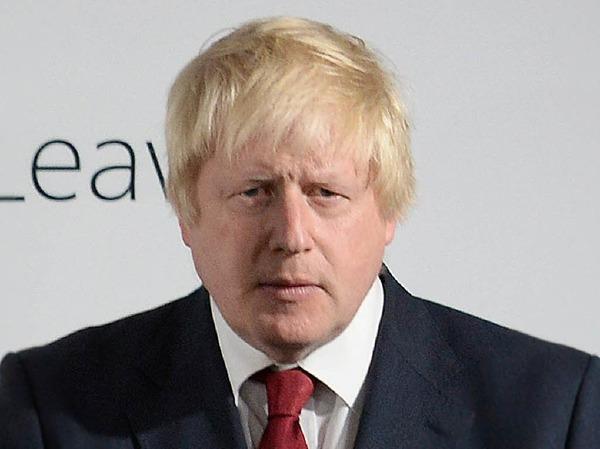 """Brexit-Befürworter Boris Johnson will beim Austritt aus der EU nichts überstürzen. Den Staatenverbund hält er für """"eine noble Idee für ihre Zeit"""", aber """"nicht länger richtig für dieses Land."""""""