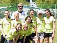 "Fotos: Jimmy Hartwig besucht den ""Kick for girls""-M�dchenfu�balltag"