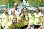 "Fotos: Jimmy Hartwig besucht den ""Kick for girls""-M�dchenfu�balltag"