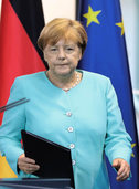 Angela Merkels schwerste Stunde