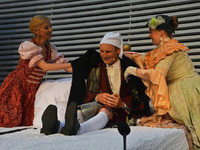 """Fotos: Burgfestspiele R�tteln geben Moli�res """"Der eingebildet Kranke"""""""