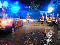 Unwetter im S�dwesten - Southside-Festival abgebrochen