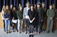 Thearter AG des Max-Planck-Gymnasium Lahr spielt in der Ehemaligen Synagoge