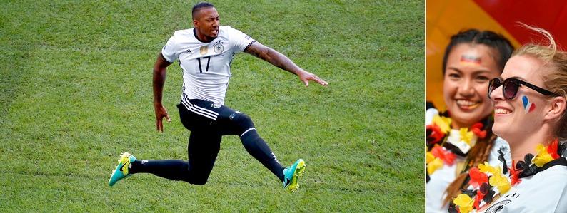 Fast alles richtig gemacht: Deutschland zieht souver�n ins Viertelfinale ein