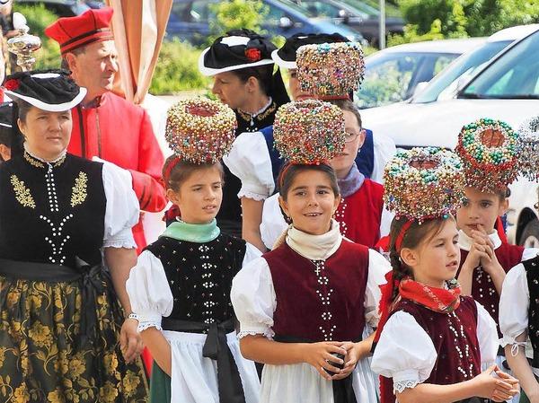 Patrozinium und Dorffest in St. Peter.