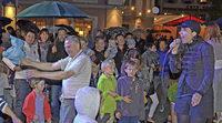 Donaueschingen feiert die frisch sanierte Donauquelle