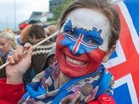 Fotos: So feiert Island den EM-Sieg gegen England