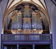 """Drei Organisten an f�nf Orgeln mit """"Rule Britania! - Englische ORgelmusik"""""""