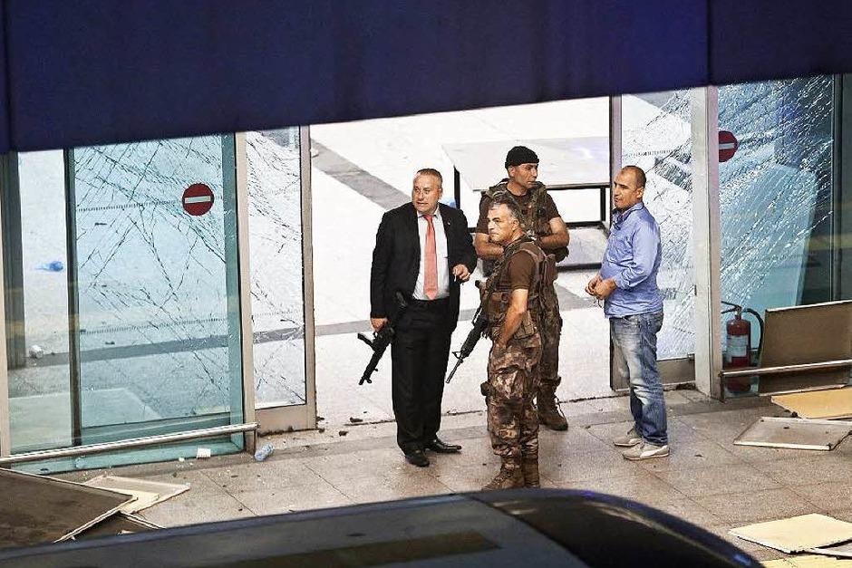 Ein Anschlag auf den Istanbuler Atatürk-Flughafen erschüttert die Türkei. (Foto: dpa)