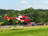 Schwerverletzter bei Unfall mit Sattelzug auf B34
